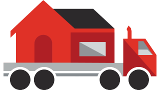 House relocation truck