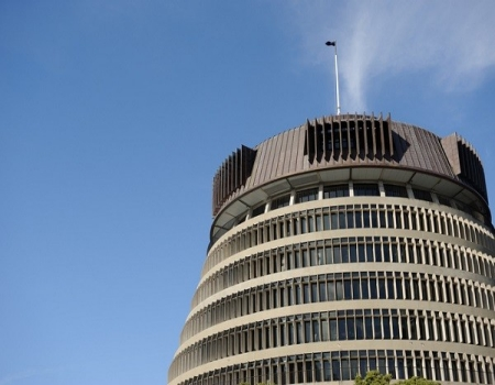 New Zealand Government Beehive Building